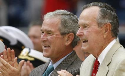 Bush Family Emails Hacked; George W. Bush Bathtub Self-Portraits Allegedly Found