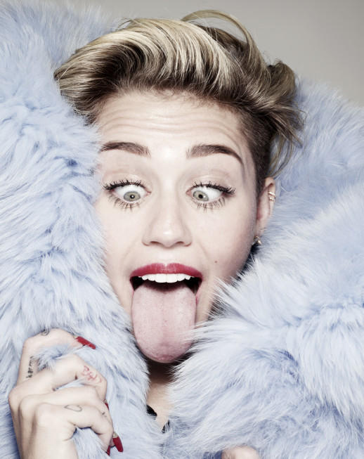 Miley Cyrus for Hunger TV