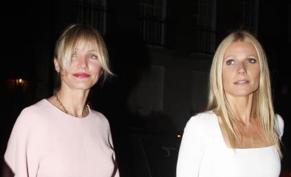 "Cameron Diaz: ""Proud"" of Gwyneth Paltrow and Chris Martin!"
