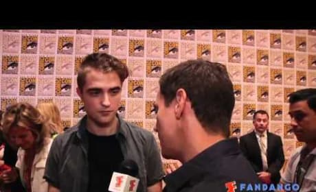 Robert Pattinson Comic-Con Interview