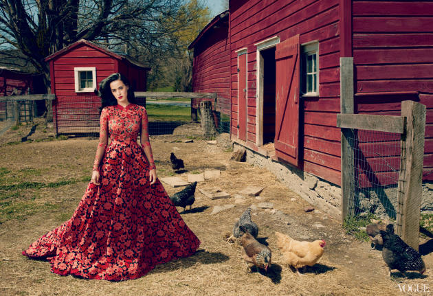 Katy Perry in Vogue Magazine Picture