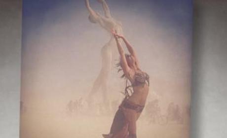 Stacey Keibler Posts Burning Man Instagram Pics