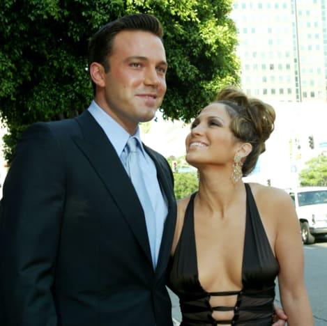 Ben Affleck and Jennifer Lopez Throwback