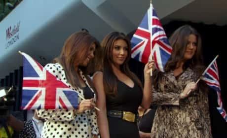 Kardashians in UK