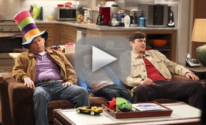 Two and a Half Men Season 12 Episode 7 Recap: What Does Ed Asner Have to Do With This?
