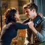 Barry and Iris on The Flash