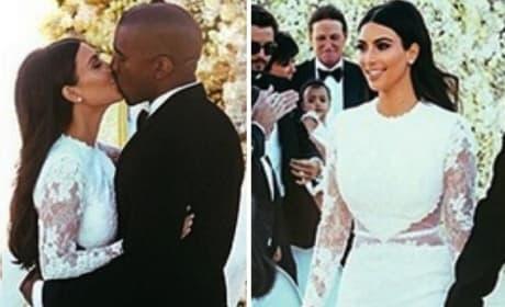 Kim Kardashian on Kanye Wedding Surprise