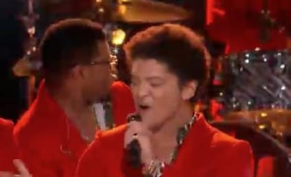 """Bruno Mars Finds """"Treasure"""" on The Voice"""