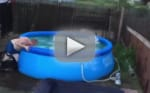 Man Attempts to Jump in Pool, Fails in Hilarious Fashion
