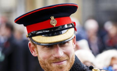 Prince Harry in a Hat