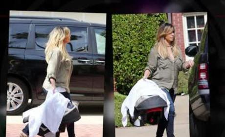 Kim Kardashian: Blonde Hair!