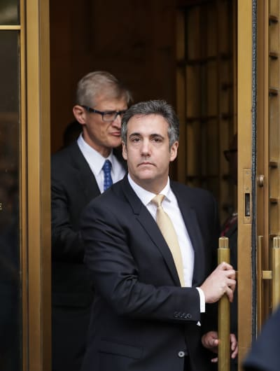 Michael Cohen in a Suit