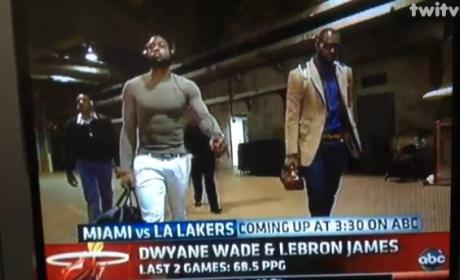 What do you think of LeBron's purse?