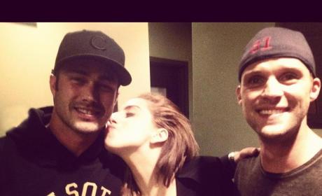 Gaga and Taylor Kinney