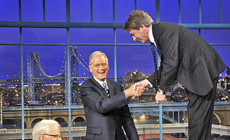 Letterman in Action