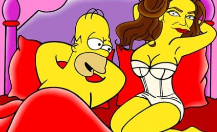 Caitlyn Jenner Undergoes The Simpsons Treatment
