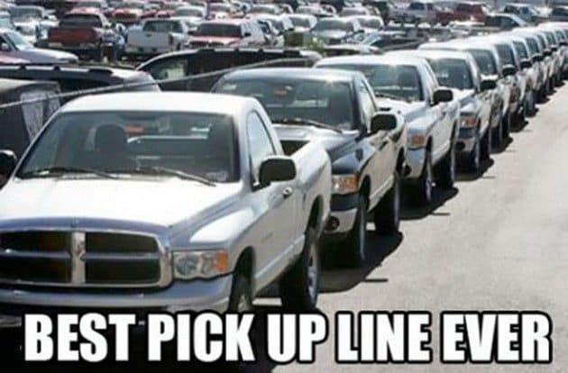 Best Pick-Up Line Ever