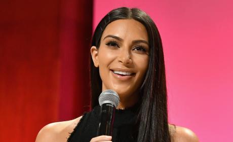 Kim Kardashian and Her Ring