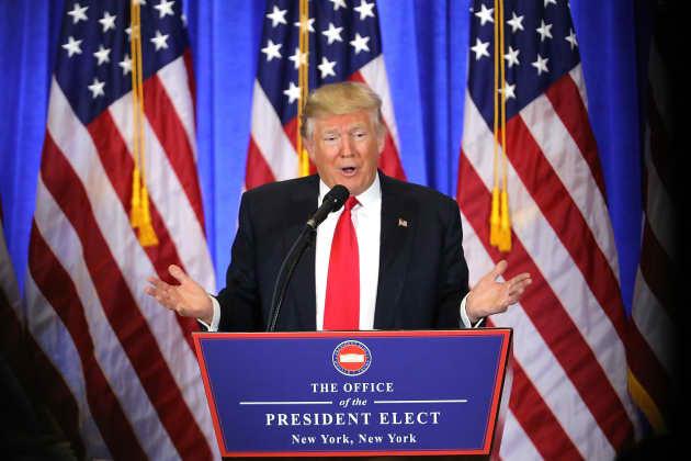 Donald Trump 2017 Press Conference