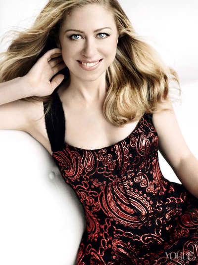 Chelsea Clinton Vogue Photo