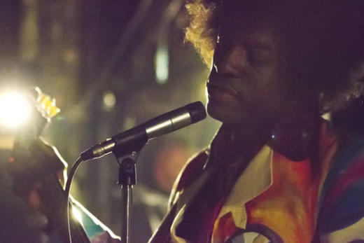Andre 3000 as Jimi Hendrix in All Is By My Side