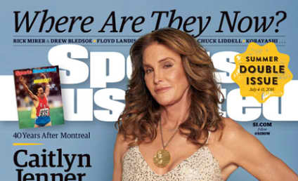 Caitlyn Jenner Covers Sports Illustrated, Dons Gold Medal