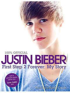 Justin Bieber Book Cover