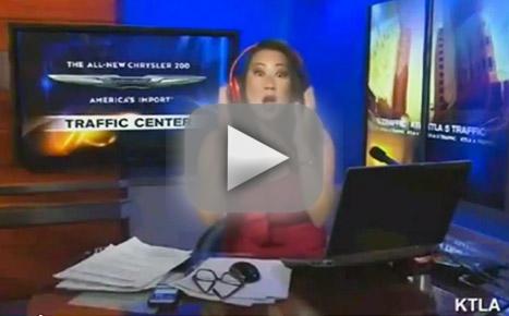 Reporter Slams Anchor as Fat... on Air!