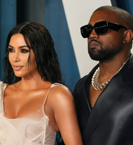 Kim Kardashian and Kanye West in Better Days