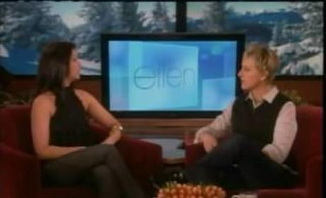 Melissa Rycroft on Ellen, Part I