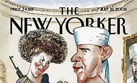 Barack Obama New Yorker Cover