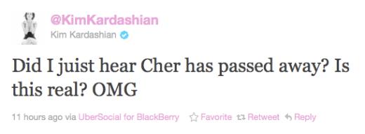 Idiot Kim Tweet
