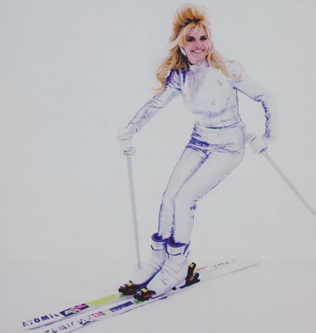 Ivana Trump Skiing