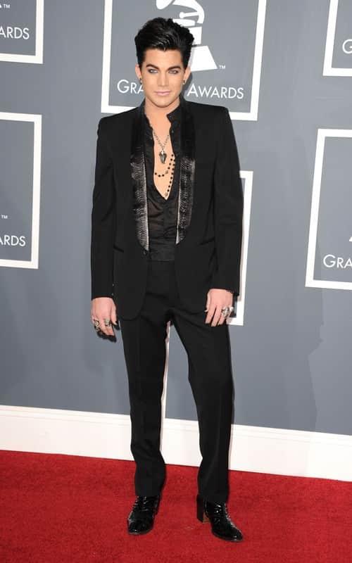 Adam Lambert at the Grammys