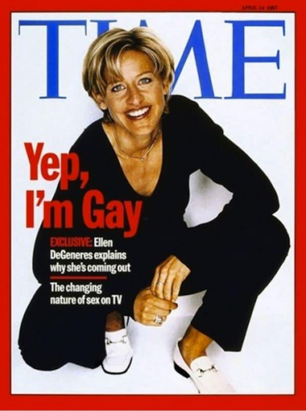 ellen degeneres announces she is gay