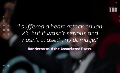 Antonio Banderas Discusses Heart Attack