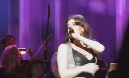 Idina Menzel Laughs Off Wardrobe Malfunction: Eff It! They're Real!