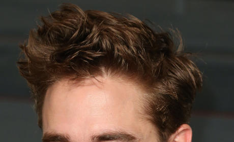 Robert Pattinson with a Smirk