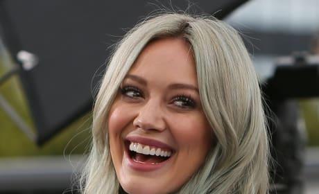Hilary Duff Laughing