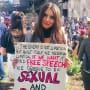 Emily Ratajkowski Marches