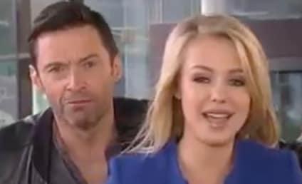 Hugh Jackman Videobombs Live News Report: Watch! Laugh!