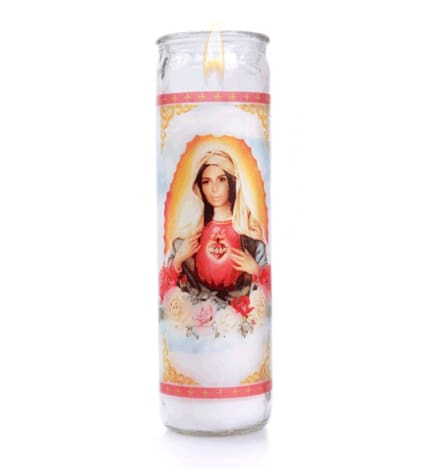 Kim Kardashian Virgin Mary Candle