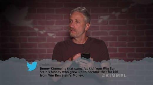 Kimmel Mean Tweets - Jon Stewart