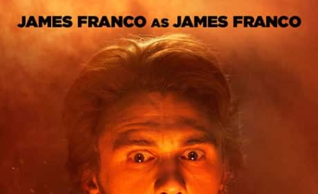 This is the End James Franco Poster