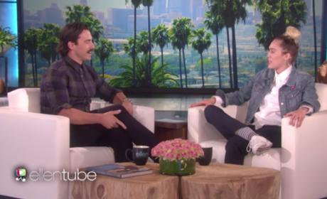 Milo Ventimiglia on Ellen