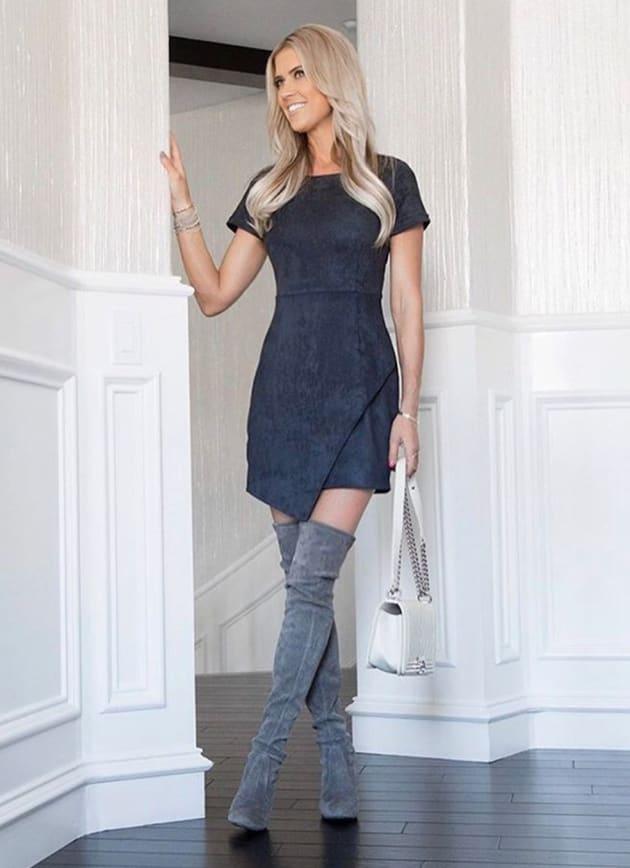 christina el moussa in big boots