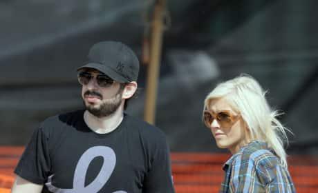Christina Aguilera and Jordan Bratman Pic