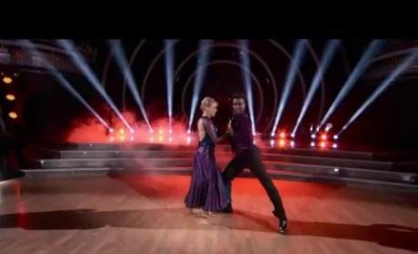Jodie Sweetin and Keo Motsepe - DWTS Premiere