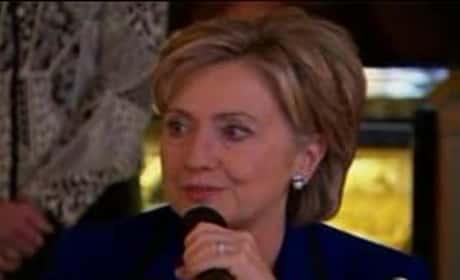 Hillary Clinton Crying
