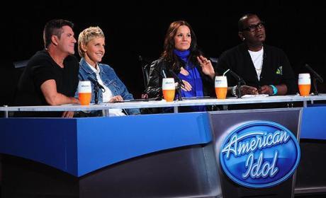 Ellen on Idol
